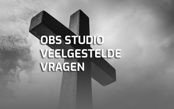 OBS Studio veelgestelde vragen