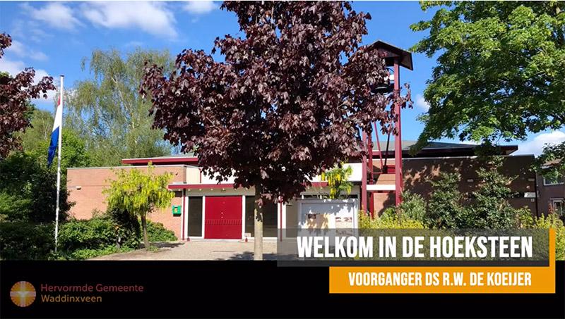 Kerkdienst streamen hoeksteen waddinxveen
