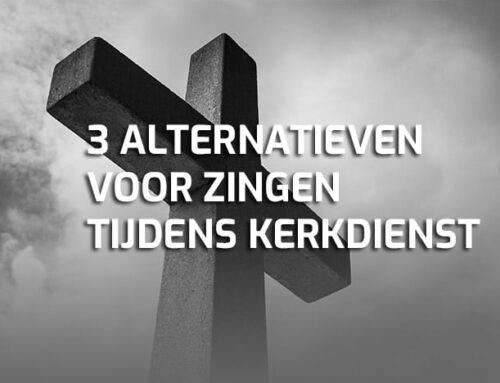 3 gratis alternatieven voor zingen tijdens de kerkdienst